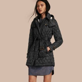 Burberry Diamond Quilted Coat $795 thestylecure.com