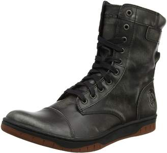 Diesel Men's Tatradium Basket Butch Zip Combat Boot