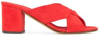 Alumnae heeled slippers