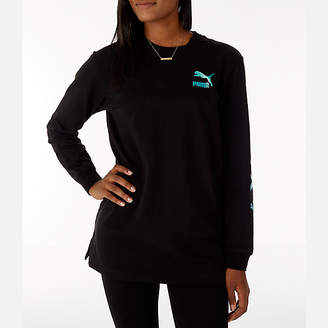 Puma Women's Retro Long Sleeve T-Shirt