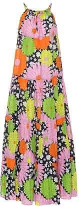 Dodo Bar Or Floral cotton maxi dress
