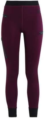 Monreal London Zip-Detailed Stretch Leggings