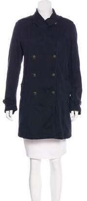 Rag & Bone Double-Breasted Short Coat