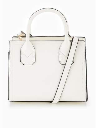 Very Mini Tote Crossbody Bag - White