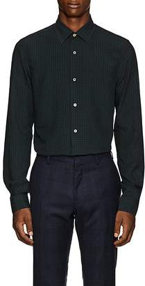 Paul Smith Men's Kensington Plaid Plain-Weave Shirt