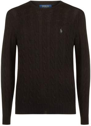 Polo Ralph Lauren Cable Knit Wool Sweater