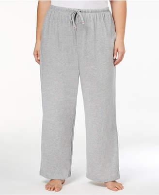 Nautica Plus Size Striped Pajama Pants