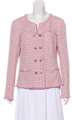 Chanel Fantasy Tweed Double-Breasted Jacket