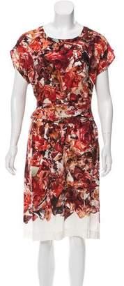 Paul Smith Floral Short Sleeve Dress