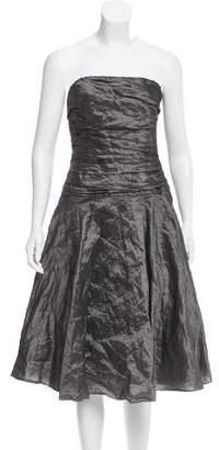 Ralph Lauren Strapless Evening Dress
