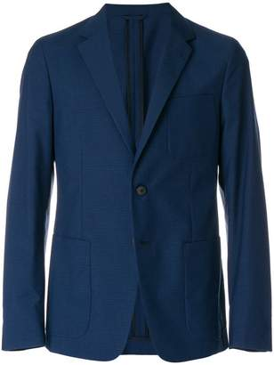 Prada patch pockets blazer