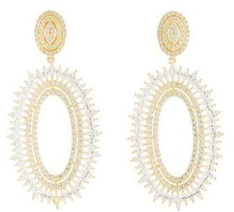 Angélique de Paris Crystal Meringue Earrings