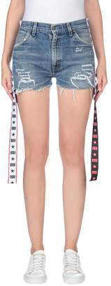Odi Et Amo with LEVI'S Denim shorts