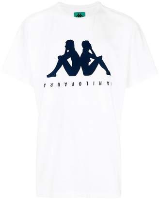 Paura logo print T-shirt