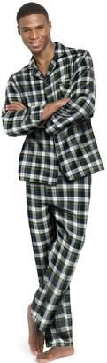Hanes Men`s Flannel Pajamas, XL