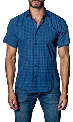 Jared Lang Check Sport Shirt