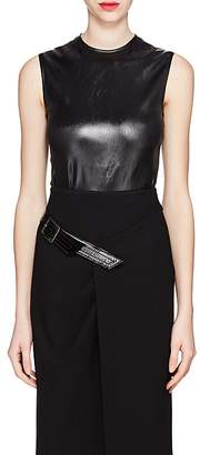 Givenchy Women's Coated Satin Top