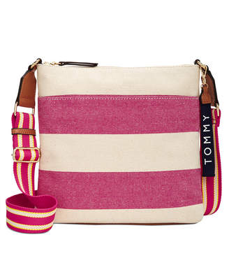Tommy Hilfiger Classic Woven Rugby Mini Crossbody