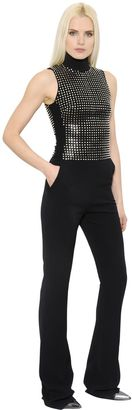 Stretch Cady Jumpsuit With Studs $2,876 thestylecure.com