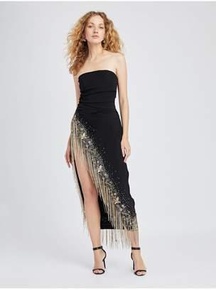 58251350ad2 Oscar de la Renta Embroidered Cady Pesante Gown