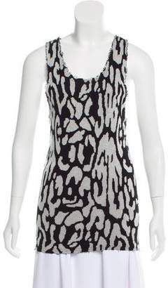 Baja East Knitted Sleeveless Top