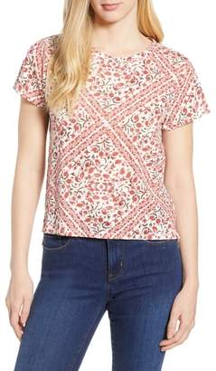 Lucky Brand Allover Print Tee