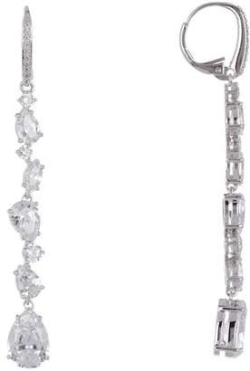 Nadri Ava CZ Linear Drop Earrings