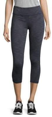 Nanette Lepore Mesh Panelled Cropped Performance Leggings
