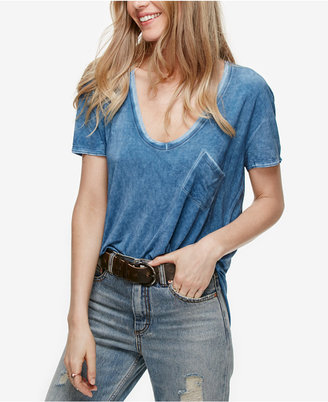 Free People Rising Sun Scoop-Neck T-Shirt $58 thestylecure.com