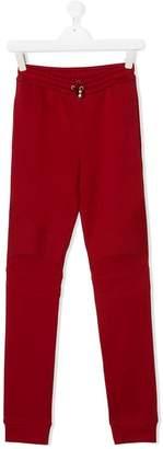 Balmain Kids TEEN skinny fit track pants