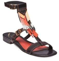 Brian Atwood B-Megan Ankle Strap Sandals