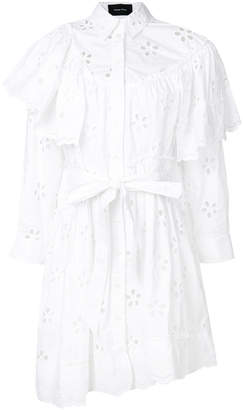 Simone Rocha cut-out detail shirt dress