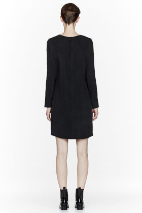 Surface to Air Black Sign Dress