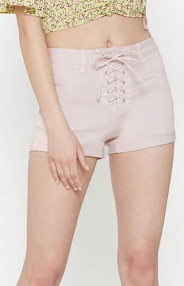 Pacsun Princess High Rise Super Stretch Denim Shorts
