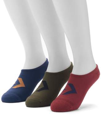 Converse Men's 3-pack Chevron Low-Cut Socks