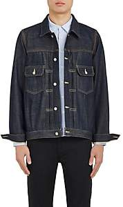 Visvim Men's Selvedge Denim Jacket-Blue