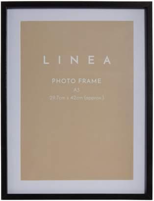 Linea Black A3 Poster Frame