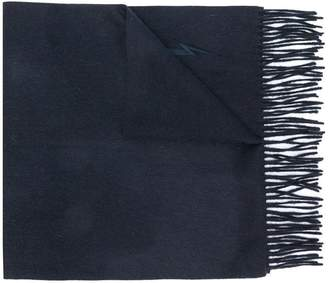 Neil Barrett fringed scarf