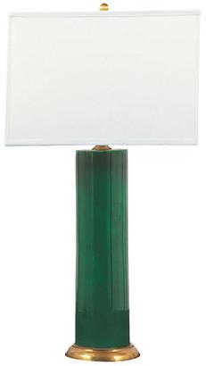 Port 68 Melrose Table Lamp - Emerald