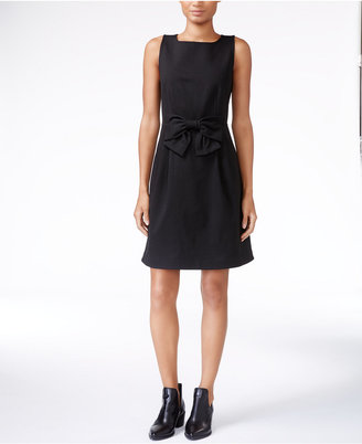 Maison Jules Bow-Detail Fit & Flare Dress, Only at Macy's $79.50 thestylecure.com