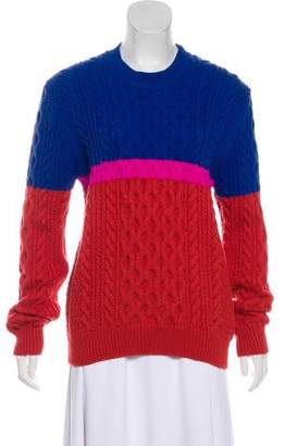 Kenzo Wool Cable Knit Sweater