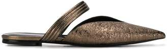 Fabiana Filippi flat pointed mules