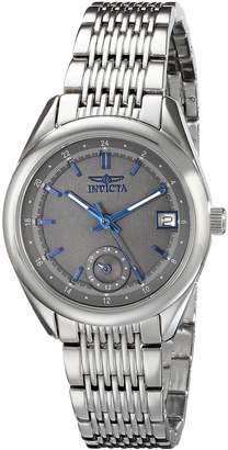 Invicta Women's 18063 Specialty Analog Display Swiss Quartz Silver Watch