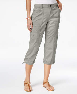Style & Co Cargo Capri Pants, Only at Macy's $21.98 thestylecure.com