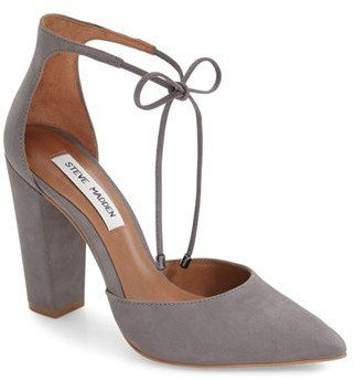 Women's Steve Madden 'Pamperd' Lace-Up Pump $99.95 thestylecure.com
