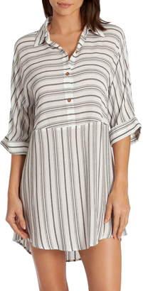 Midnight Bakery Jade Stripe Sleepshirt