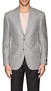 Jack Victor MEN'S WOOL-BLEND TWO-BUTTON SPORTCOAT-GRAY SIZE 40 R