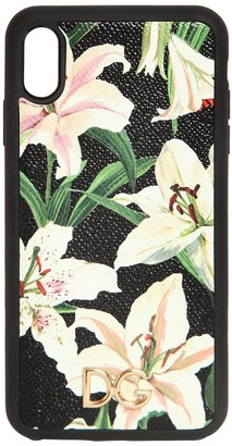Dolce & Gabbana Lily Print I Phone Xs Max Cover