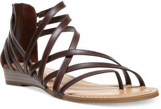 Carlos By Carlos Santana Amara Strappy Flat Sandals Women's Shoes $59 thestylecure.com