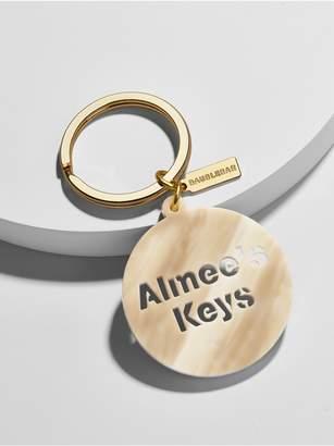 BaubleBar Acrylic Custom Keychain